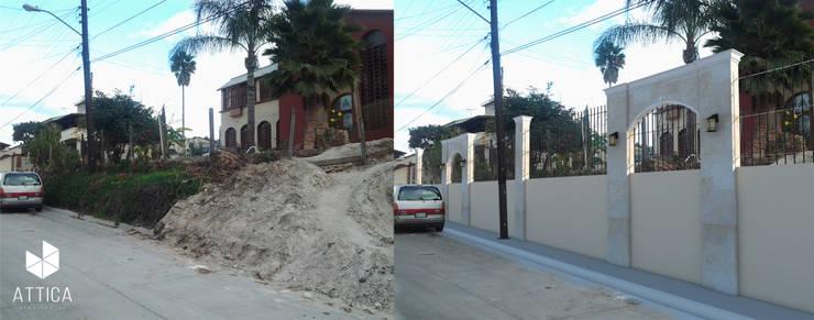 ANTES Y DESPUES: Casas de estilo clásico por ATTICA ARQUITECTOS