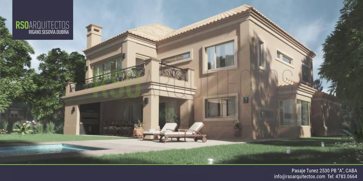 Casa Saint Thomas: Casas de estilo  por RSOarquitectos