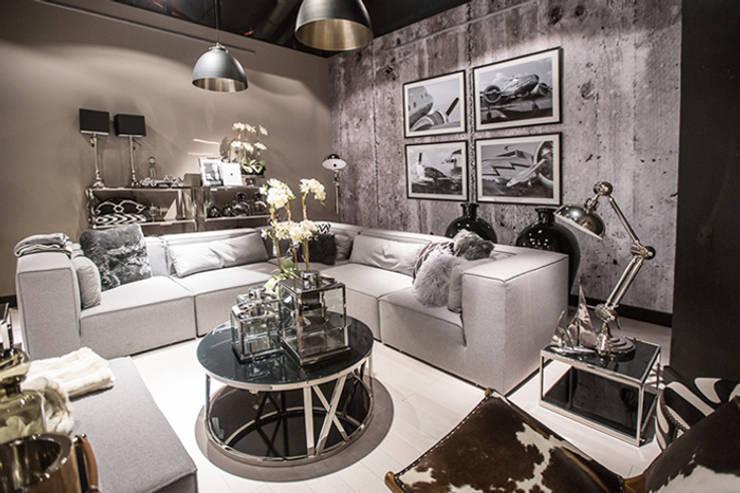 SKLEP HOUSE & more, Centrum Handlu, Sztuki i Biznesu Stary Browar w Poznaniu.: styl , w kategorii Salon zaprojektowany przez 2kul INTERIOR DESIGN,Eklektyczny Matal