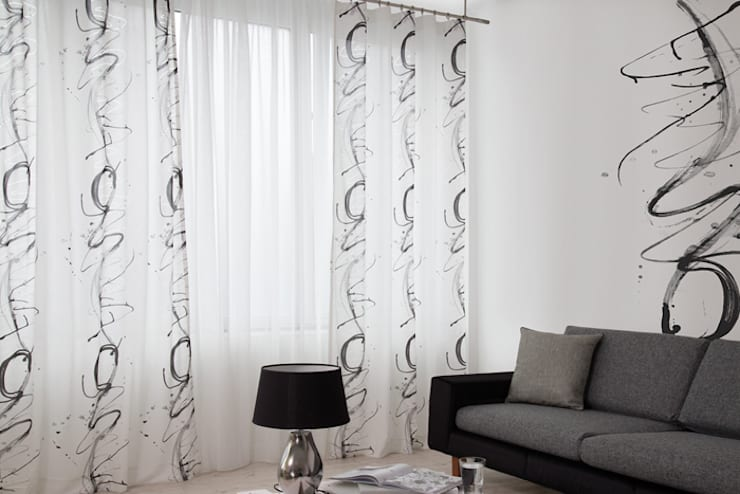 Fenêtres & Portes de style de style Moderne par Indes Fuggerhaus Textil GmbH