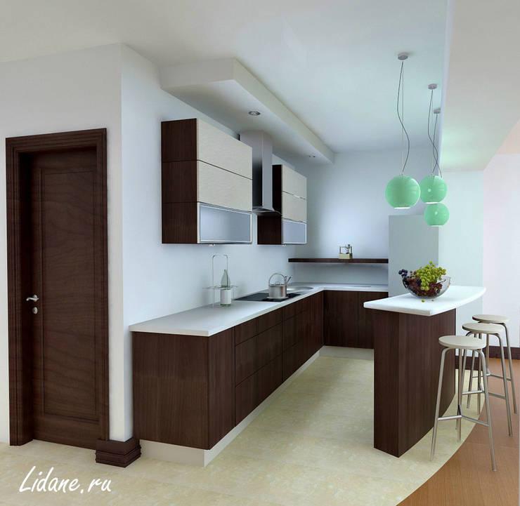 Квартира в стиле минимализм. Сочи: Кухни в . Автор – Lidiya Goncharuk