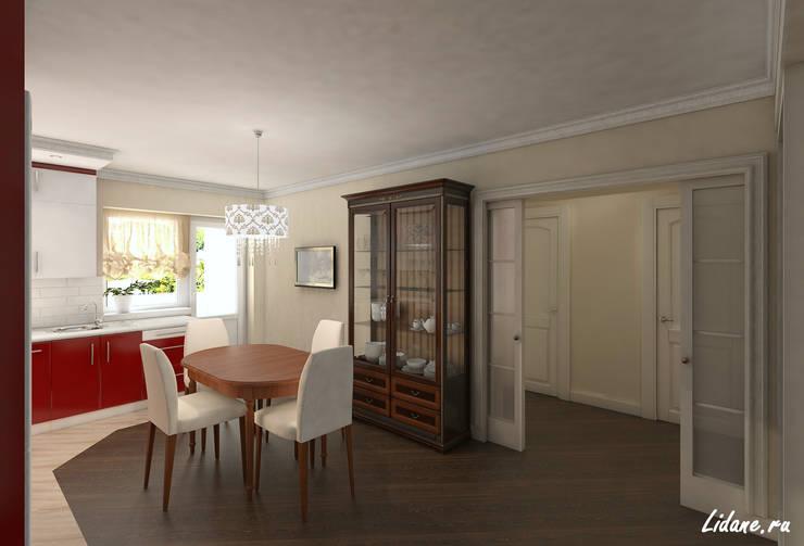 Семейные апартаменты. Москва: Столовые комнаты в . Автор – Lidiya Goncharuk
