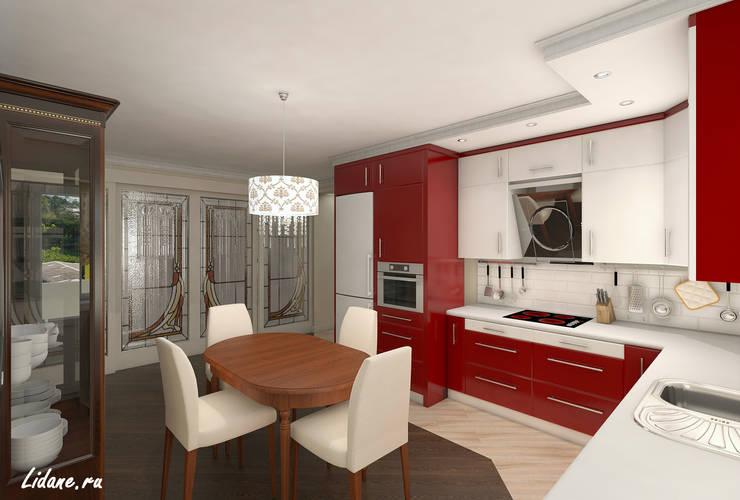Семейные апартаменты. Москва: Кухни в . Автор – Lidiya Goncharuk