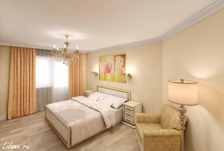 Семейные апартаменты. Москва: Спальни в . Автор – Lidiya Goncharuk