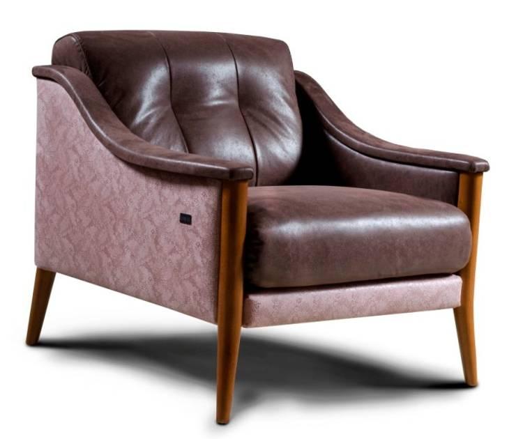 Vasari fotel marki Nieri: styl , w kategorii Salon zaprojektowany przez Italian Style