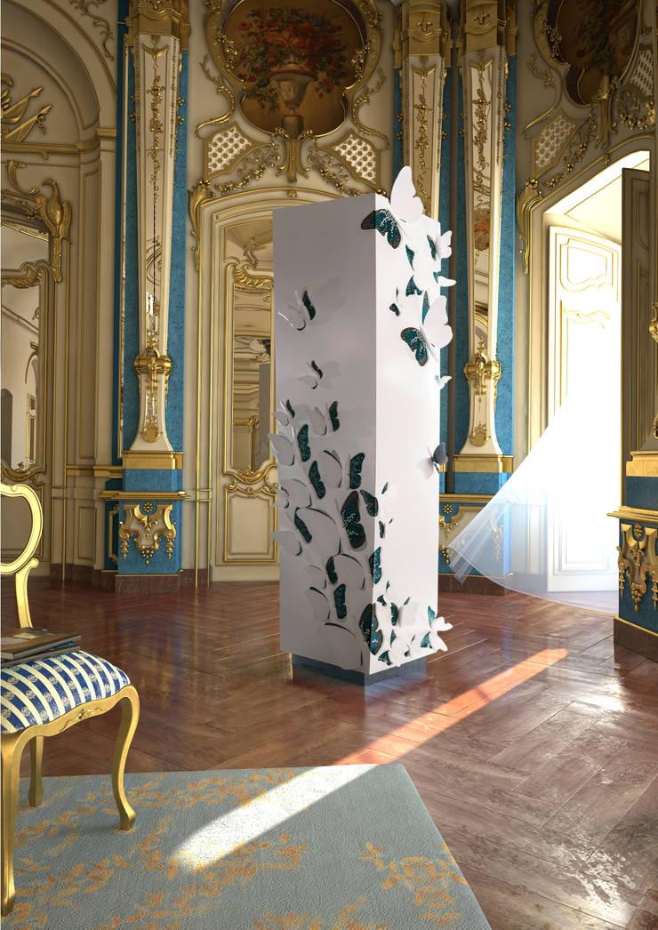 METAMORPHOSIS: Corredor, hall e escadas  por Alma de Luce