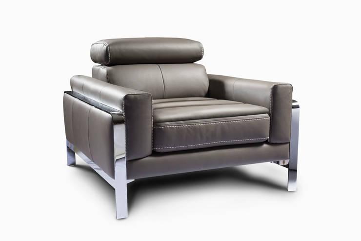 Priss fotel marki Nieri : styl , w kategorii Salon zaprojektowany przez Italian Style