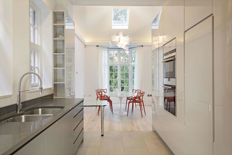 Elsworthy Road, NW3: modern Dining room by XUL Architecture