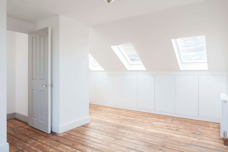 modern Bedroom by Blankstone