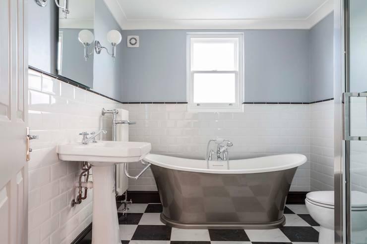 Kensal Rise House:  Bathroom by Blankstone