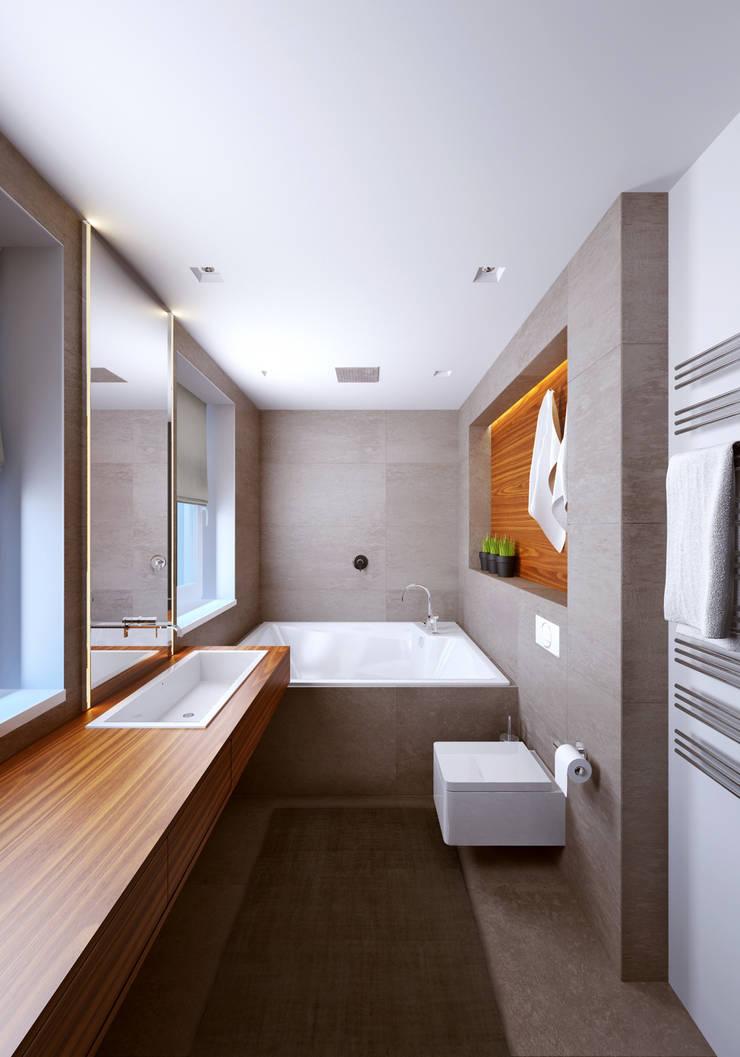 Ванная комната: Ванные комнаты в . Автор – lab21studio,