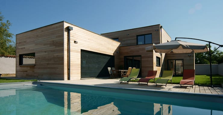 modern Houses by Groupe SOBÖ