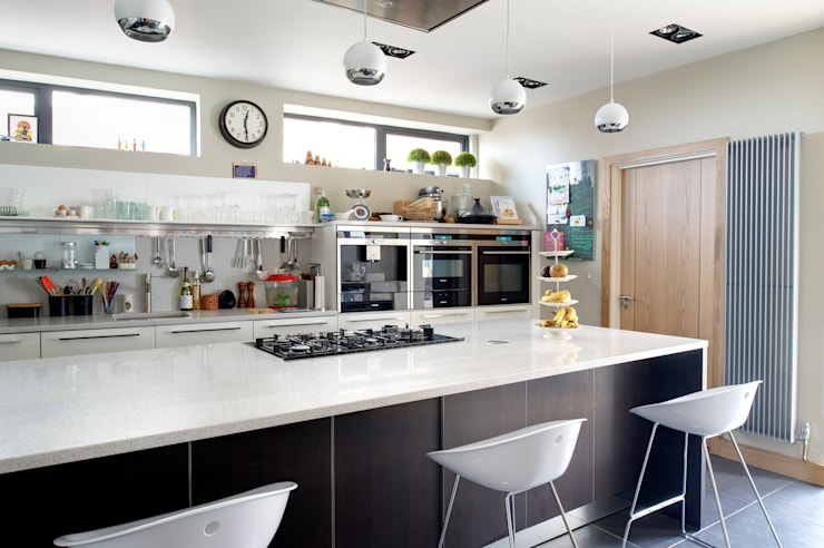 The Links, Whitley Bay: modern Kitchen by xsite architecture LLP
