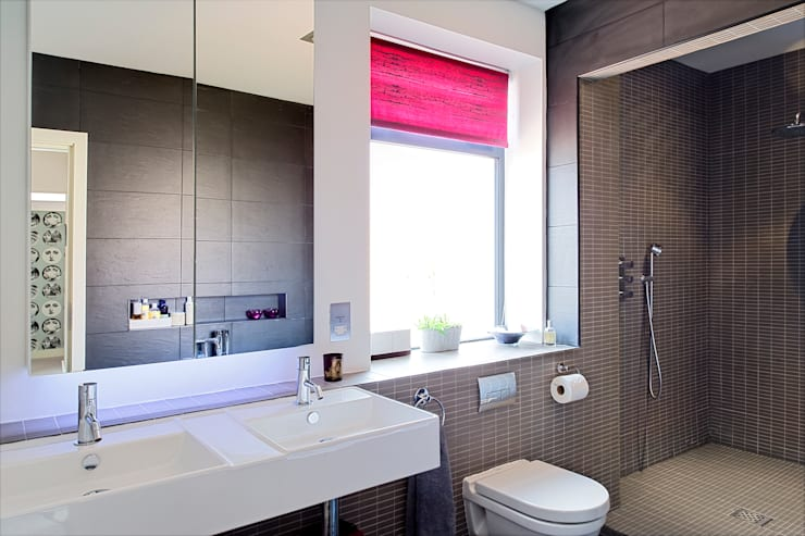 The Links, Whitley Bay: modern Bathroom by xsite architecture LLP