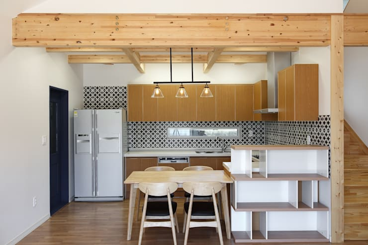 modern Kitchen by woodsun