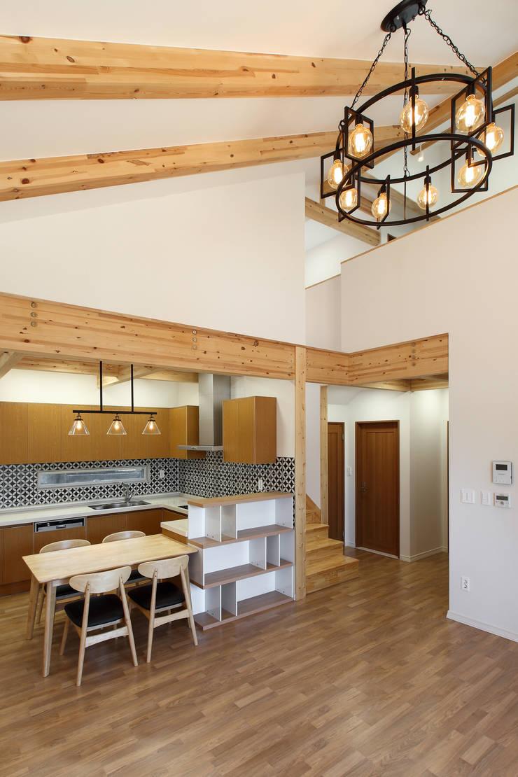 WOODSUN 광주 주택 : woodsun의  다이닝 룸
