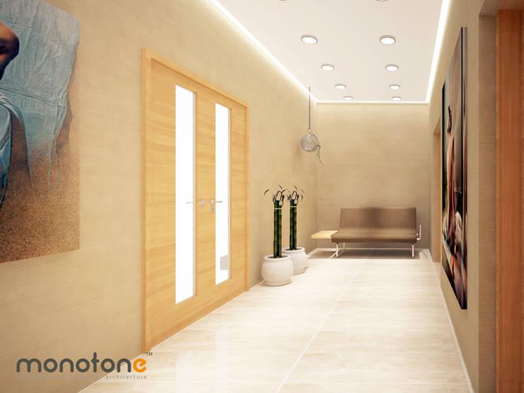 monotone concept desıgn & ınterıor archıtecture – MG fabrika yerleşkesi:  tarz Ofis Alanları, Modern
