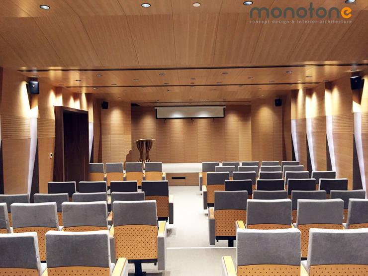 monotone concept desıgn & ınterıor archıtecture – MG fabrika yerleşkesi:  tarz Ofis Alanları