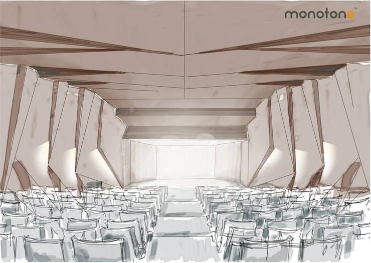 monotone concept desıgn & ınterıor archıtecture – MG fabrika yerleşkesi: modern tarz , Modern