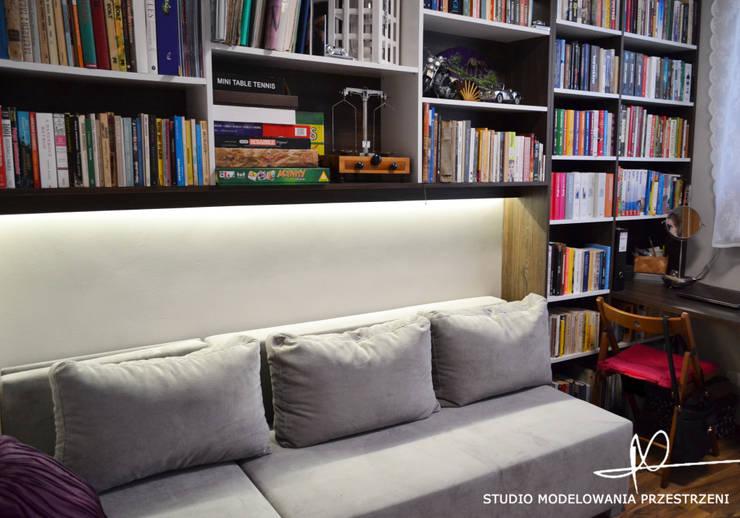 Gabinet: styl , w kategorii Salon zaprojektowany przez Studio Modelowania Przestrzeni,Nowoczesny