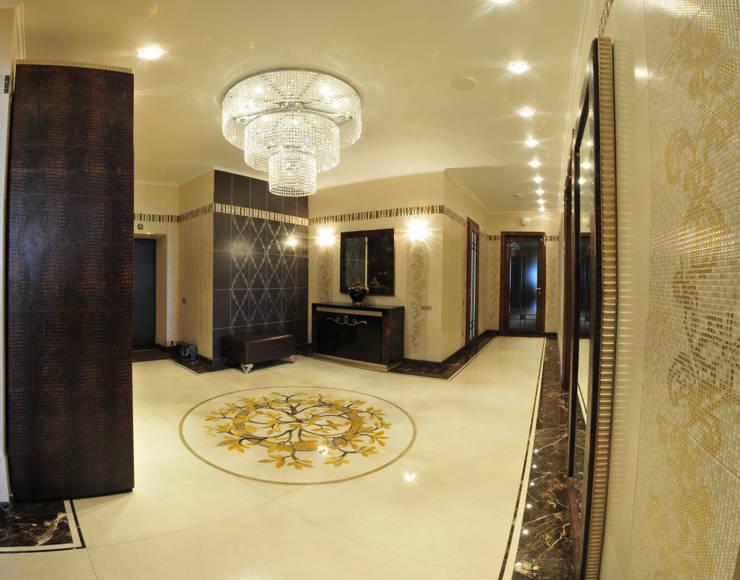 Интерьер квартиры в стиле Ар Деко: Коридор и прихожая в . Автор – Antica Style