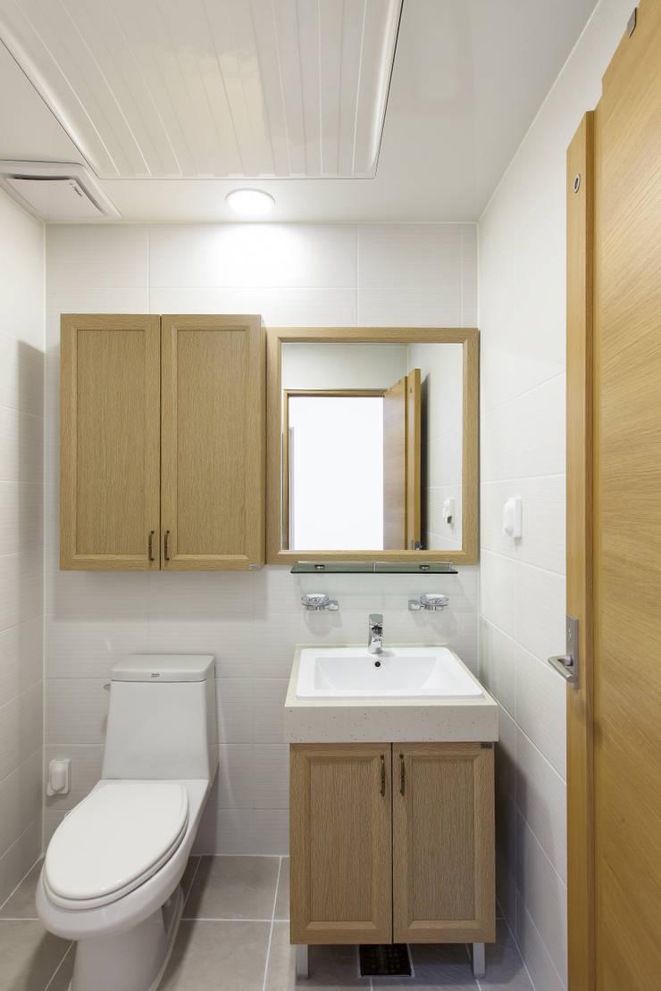 WOODSUN 연천 주택 : woodsun의  욕실