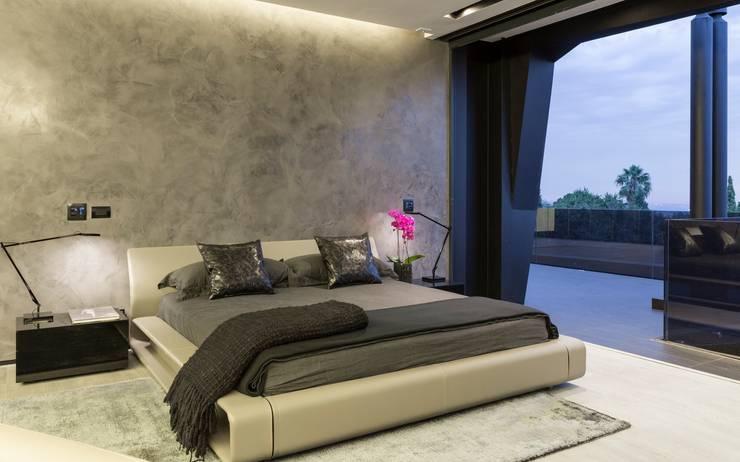 Schlafzimmer von Nico Van Der Meulen Architects