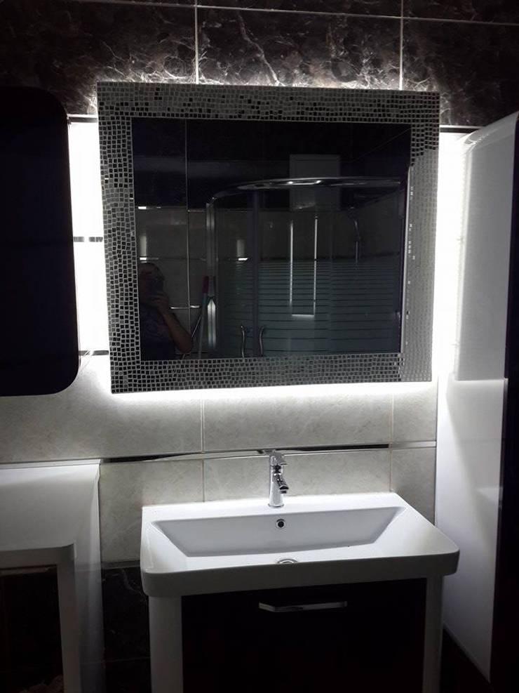VERA CAM AYNA DEKORASYON – banyo modelleri: klasik tarz tarz Banyo