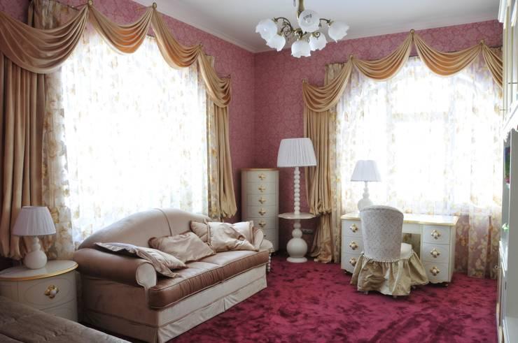 Интерьер квартиры в стиле Ар Деко: Детская комната в . Автор – Antica Style
