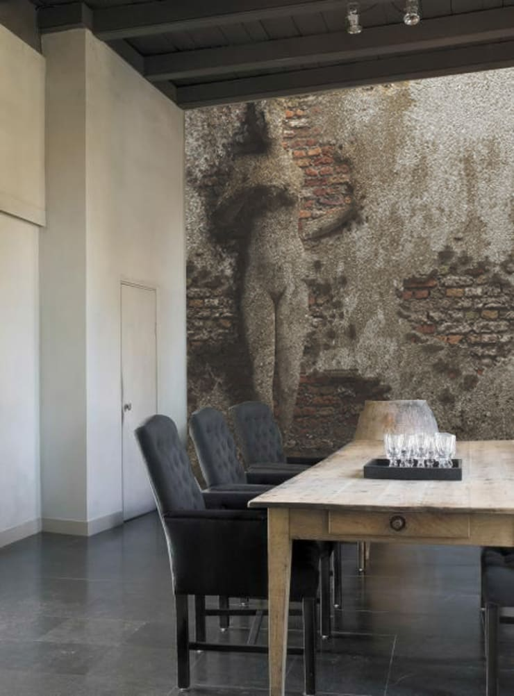 paint: Pareti & Pavimenti in stile  di Creativespace,