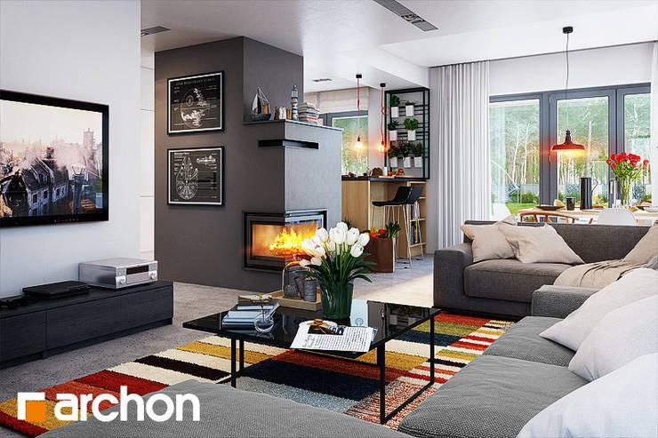 Stolik Manhattan: styl , w kategorii  zaprojektowany przez ArchonHome.pl,Nowoczesny