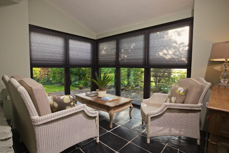 ULTRA Wire Free Blinds:  Windows & doors  by Appeal Home Shading
