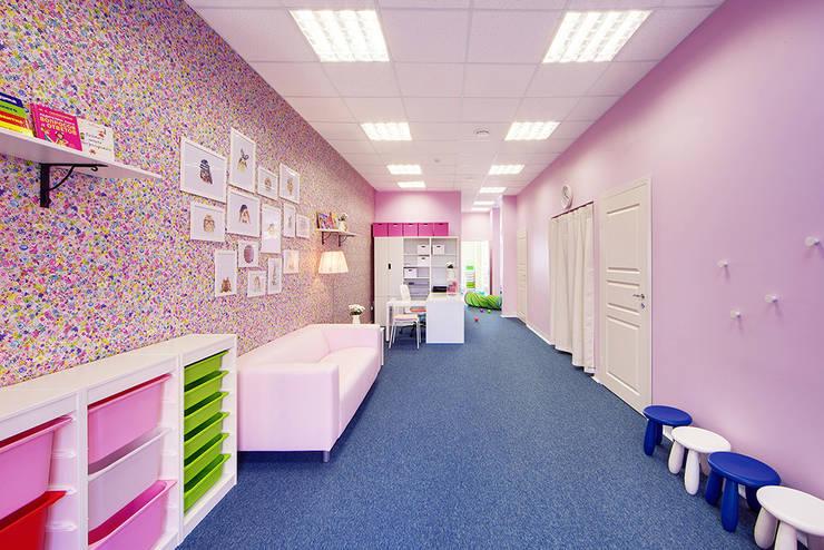 Детский клуб <q>Маруся</q>: Школы и учебные заведения  в . Автор – Порядок вещей - дизайн-бюро