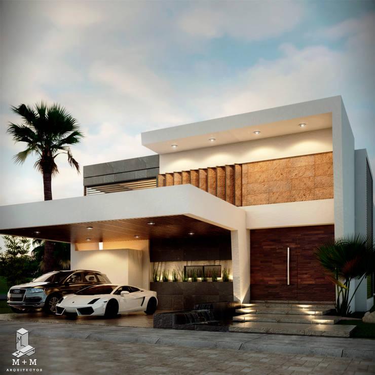 CASA :AV: Casas de estilo  por M+M CONSTRUCCIONES MARIN