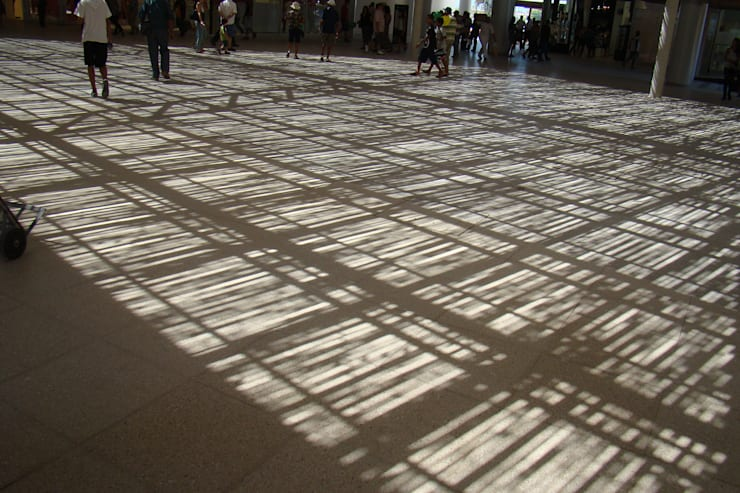 Shopping Parque Serramar: Shopping Centers  por BAMBU CARBONO ZERO,
