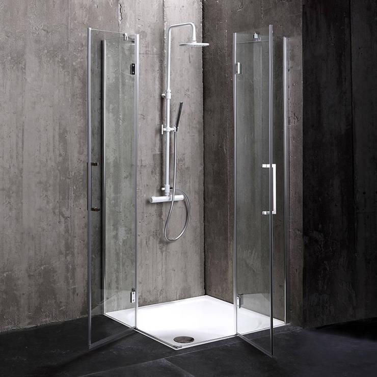 Box doccia London : Bagno in stile  di Kodicebagno