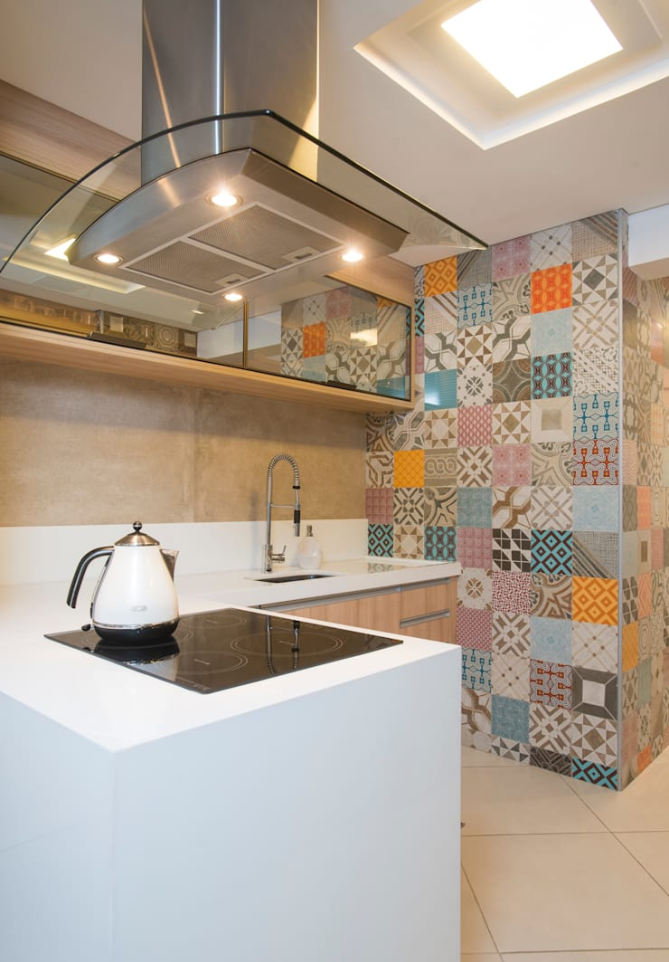 Cocinas de estilo  por Alexandre Magno Arquiteto