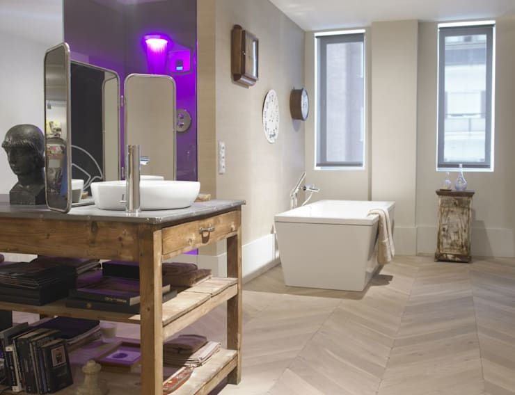 modern Bathroom by Fontini by Font Barcelona