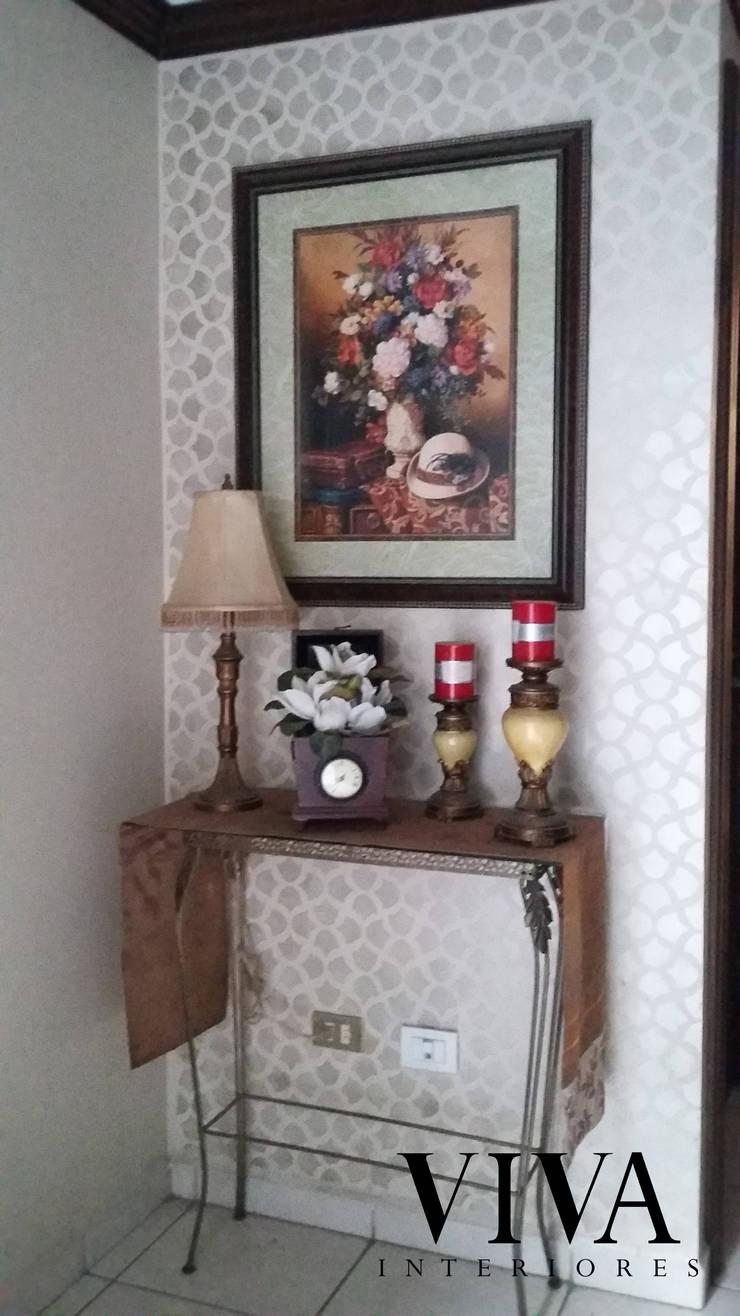 Plantilla Decorativa: Pasillos y recibidores de estilo  por VIVAinteriores