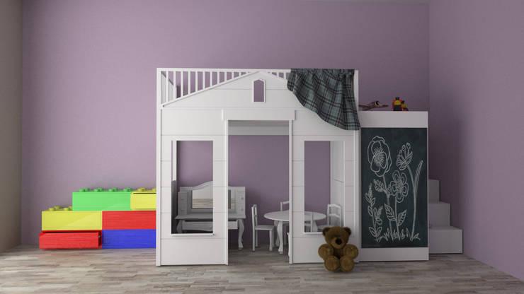 Dormitorios de estilo  por Zono Interieur