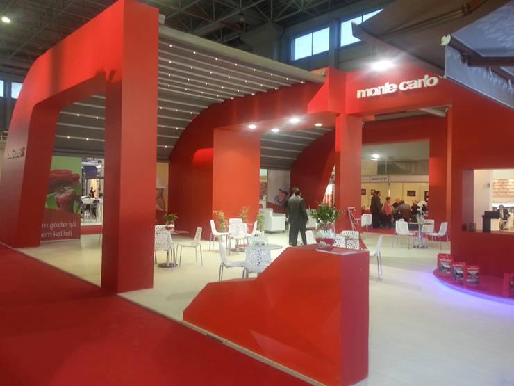 Derin İnşaat ve Mimarlık – Monte Carlo:  tarz Sergi Alanları, Endüstriyel