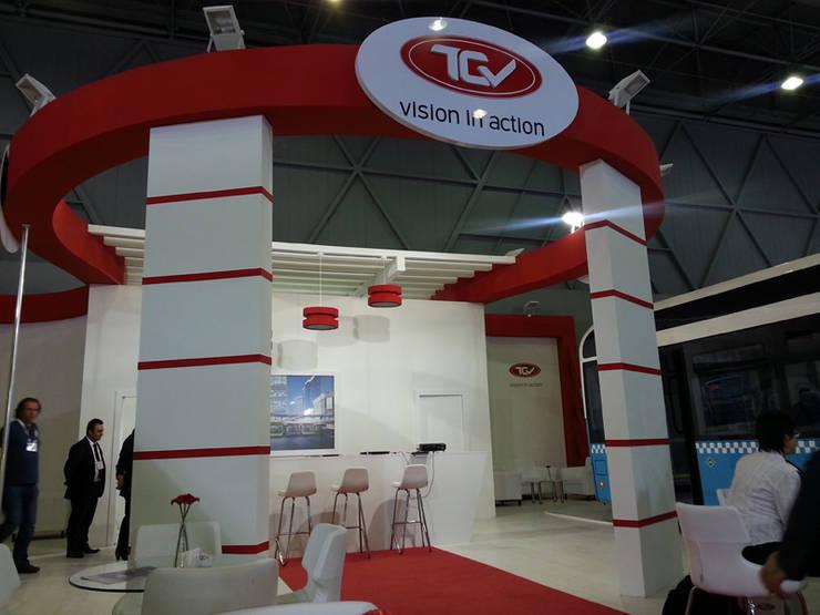Derin İnşaat ve Mimarlık – TCV:  tarz Sergi Alanları, Endüstriyel