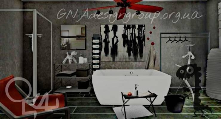 Ванные комнаты в . Автор – GNAdesigngroup, Лофт