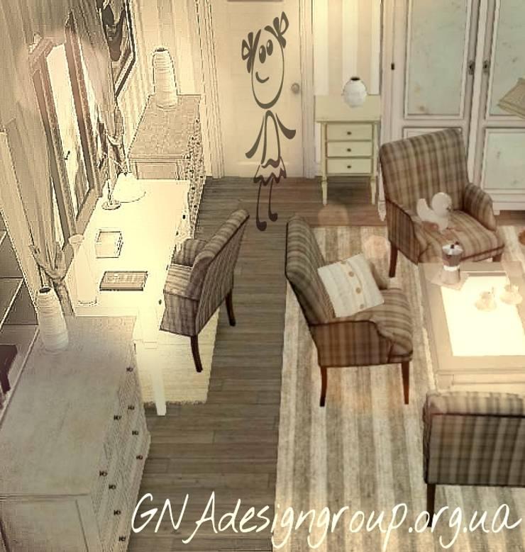 Детские комнаты в . Автор – GNAdesigngroup