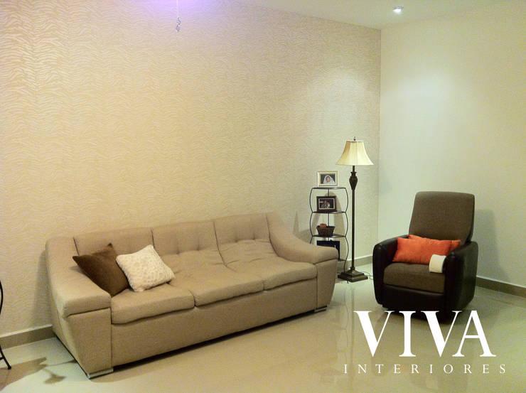 Oporto 416: Salas de estilo  por VIVAinteriores