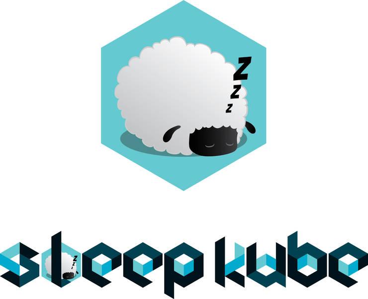 Logo Sleepkube:   por BOXCODE