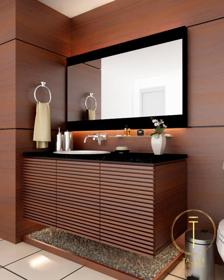 Bathroom by Taller 03,