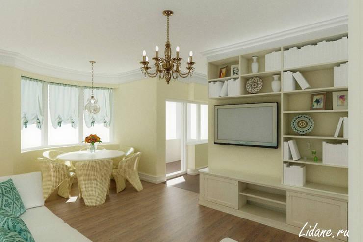 Семейные апартаменты. Сочи: Столовые комнаты в . Автор – Lidiya Goncharuk