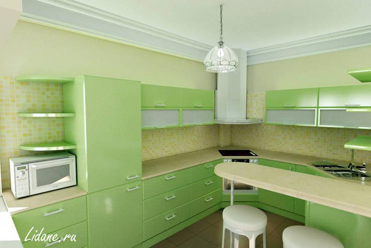 Семейные апартаменты. Сочи: Кухни в . Автор – Lidiya Goncharuk