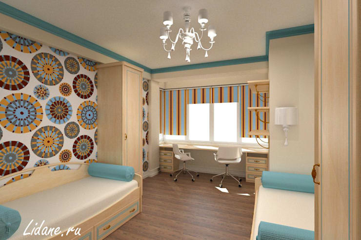 Семейные апартаменты. Сочи: Детские комнаты в . Автор – Lidiya Goncharuk